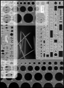 fotogram_gestructureerd_scanner_grijswaarden_geinverteerd
